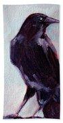 Blue Raven Bath Towel