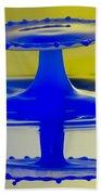 Blue Reflections Bath Towel