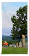 Blue Ridge Mountain Cemetery Bath Towel