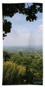 Blue Ridge Parkway Scenic View Bath Towel