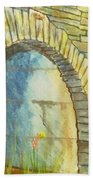 Blue Ridge Tunnel Hand Towel
