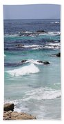 Blue Surf Bath Towel