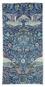 Blue Tapestry Bath Towel