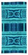 Blue Teal Dreams Bath Towel