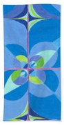 Blue Unity Bath Towel