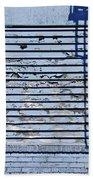 Blue Wall Bath Towel