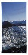 Blue Whale Tail Sea Of Cortez Bath Towel