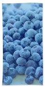 Blueberries Hand Towel
