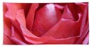Blushing Pink Rose Bath Towel
