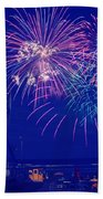 Boardwalk Fireworks Bath Towel