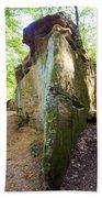 Boat-shaped Rock Wildcat Den State Park Bath Towel