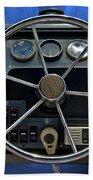 Boat Steering Wheel Bath Towel