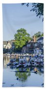Boathouse Row In September Bath Towel