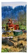 Boats And Heavy Equipment Bath Towel