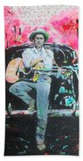 Bob Dylan - Crossroads Bath Towel