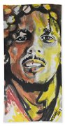 Bob Marley 02 Bath Towel