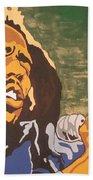 Bob Marley Hand Towel