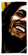 Bob Marley Rastafarian Bath Towel