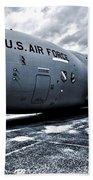 Boeing C-17 Airplane Bath Towel