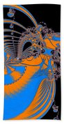 Bold Energy Abstract Digital Art Prints Bath Towel