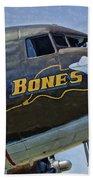 Bones Bath Towel