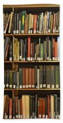 Bookshelves Bath Towel