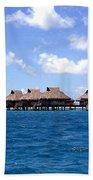 Bora Bora Lagoon Hand Towel