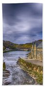 Boscastle Harbour Bath Towel