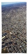 Boston From Above Bath Towel