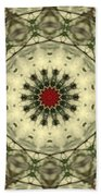 Bottle Brush Kaleidoscope Bath Towel