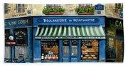 Boulangerie De Montmartre Bath Towel