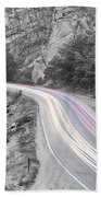 Boulder Canyon Drive And Selective Commute  Hand Towel