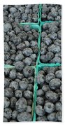 Bounty Of Blueberries Bath Towel