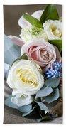Bouquet Of Spring Flowers Bath Towel