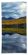 Bowman Lake Quietude Bath Towel