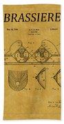 Bra Patent 19 Bath Towel