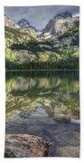 Bradley Lake Reflection - Grand Teton National Park Bath Towel