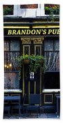 Brandon's Pub Bath Towel