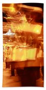 Brass Band At Night Hand Towel