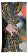 Brass Musical Instrument 01 Bath Towel