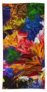 Brazilian Carnival Bath Towel