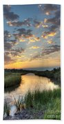 Breaking Dawn Along The Bayou Bath Towel
