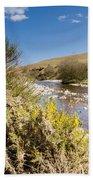 Breamish Valley In Spring Bath Towel