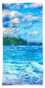 Breezy Hawaii Morning Bath Towel
