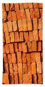 Brick Stack Bath Towel