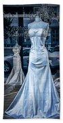 Bridal Dress Window Display In Ottawa Ontario Bath Towel
