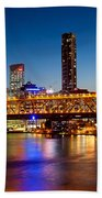 Bridge Across A River, Story Bridge Bath Towel