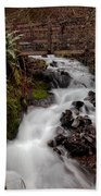 Lower Wahkeena Falls Bath Towel