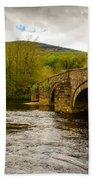 Bridge Near Cymer Abbey Bath Towel
