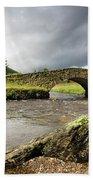 Bridge Over River, Scotland Bath Towel